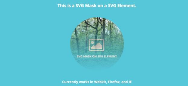 SVG mask on SVG element