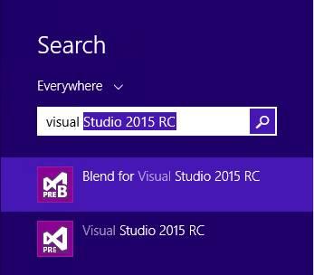 Visual Studio Community Edition Search