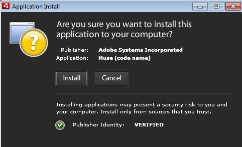 Adobe Muse Installer