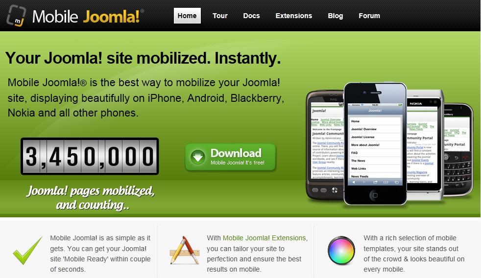 Modern Joomla