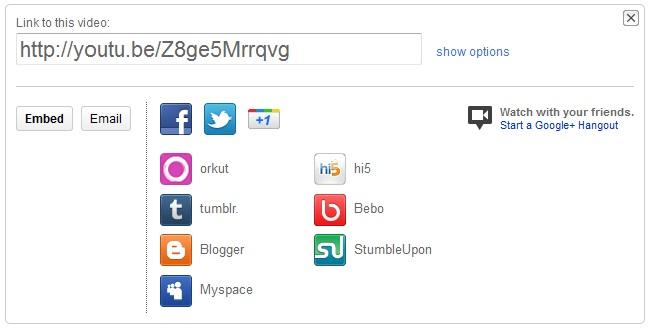 Social Networking Sharing