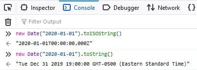 Time Zones in Javascript