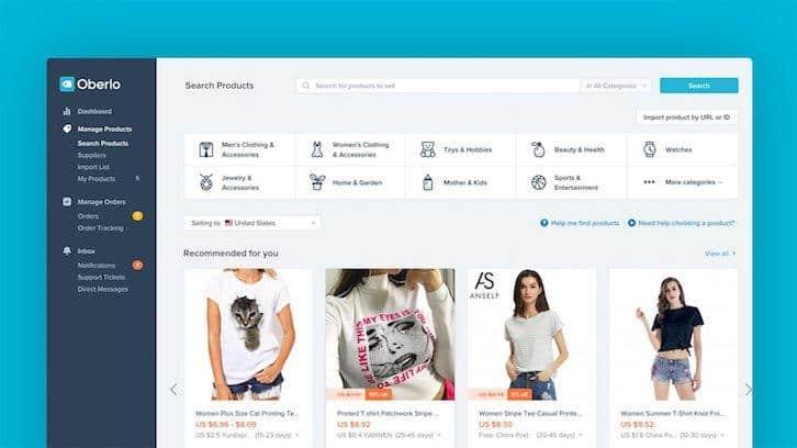CMS de commerce électronique Shopify