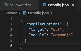 Opzioni del compilatore TypeScript