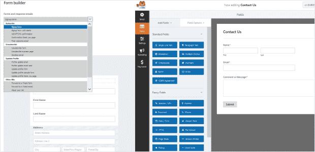 Plugin WordPress Gravity Forms